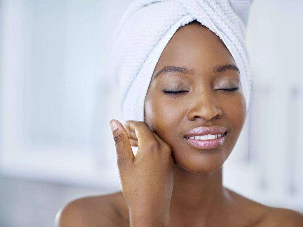 peau belle propre